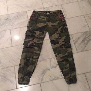BDG cropped camo cargo pants
